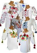 Женские вышиванки, вышитые блузы и рубашки