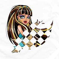 Декор на рубашки Monster High [Свой размер и материалы в ассортименте]