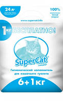 Наполнитель SuperCat Стандарт 6+1 кг