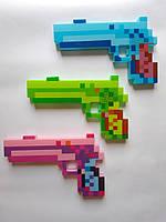 Пістолет Майнкрафт зі звуковими і світловими ефектами