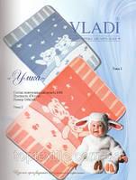 Vladi Детское одеяло шерстяное люкс Медвежата, фото 1