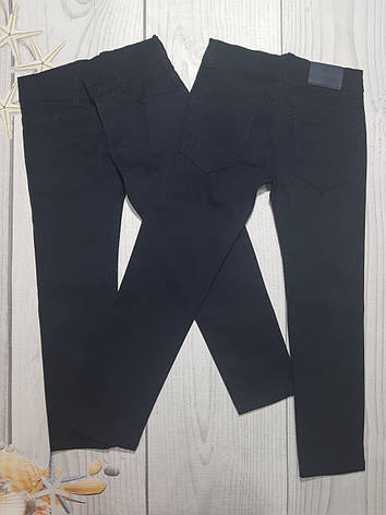 Школьные брюки для мальчика  11-15 лет опт синий, фото 2