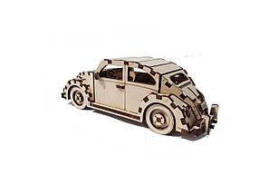 Дерев'яний конструктор 3D пазл Volkswagen, фото 3