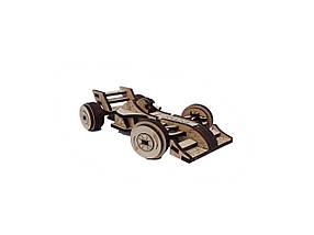Деревянный конструктор 3D пазл Формула-1, фото 2