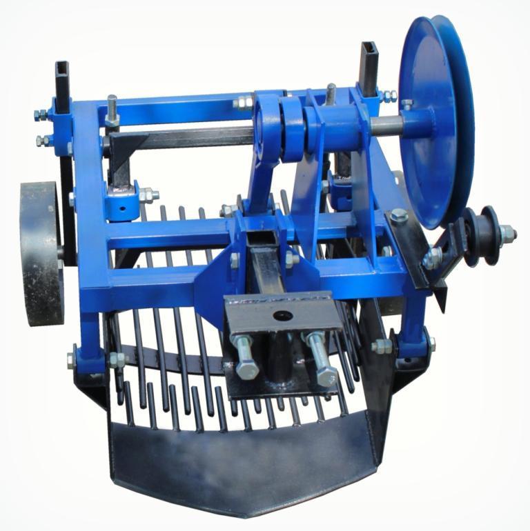 Картофелекопатель вибрационный 2-х эксцентриковый под мототрактор с гидравликой (КК13) | Картоплекопач вібраційний 2х ексцентриковий під мототрактор з