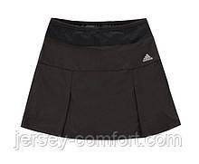 Юбка шорты женская эластан. Юбка для тенниса. Черная