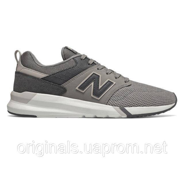 Серые кроссовки New Balance 009 мужские повседневные