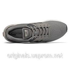 Серые кроссовки New Balance 009 мужские повседневные, фото 2
