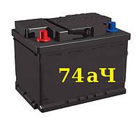 Аккумулятор Б\У 74 АЧ R+ / L+