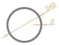 Труба круглая 40х2