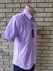 Рубашка мужская летняя коттоновая стрейчевая брендовая высокого качества WHITE MOUNTAIN, Турция, фото 3