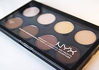 Палитра корректоров для лица NYX highlight & contour pro palette (8 цветов)