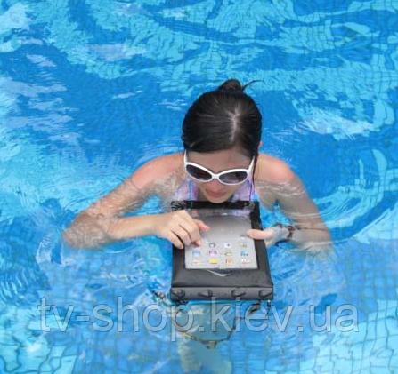Водонепроницаемый чехол для  IPAD\планшетов\ электронных книг