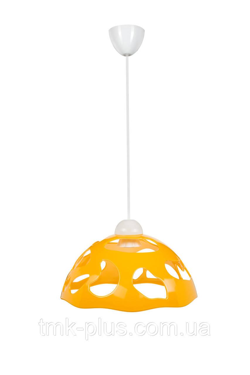 Декоративний світильник ERKA 1304 стельовий 60 W жовтий Е27
