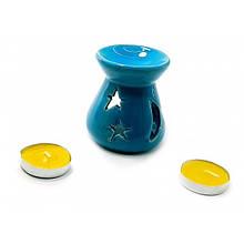 Синяя аромалампа в подарок