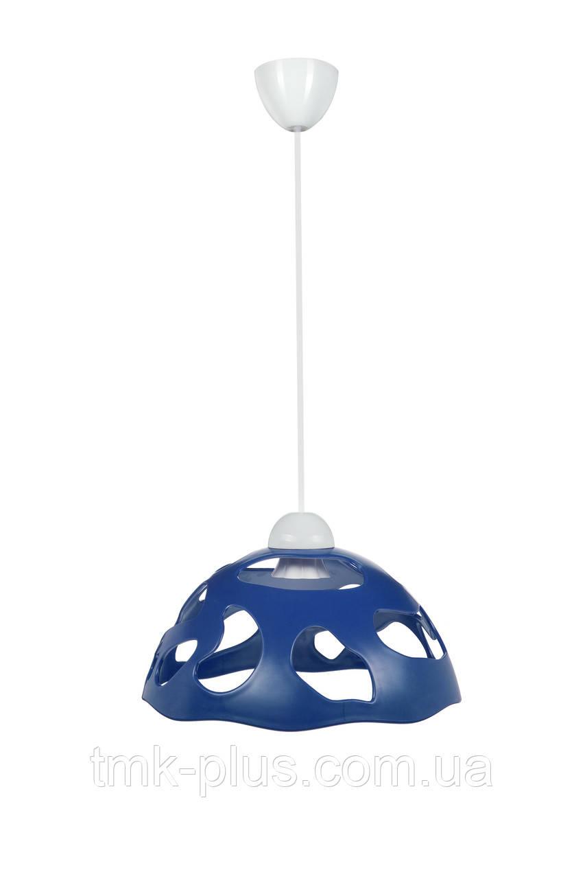 Декоративний світильник ERKA 1304 стельовий 60 W синій Е27