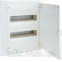 Щит в/у з білими дверцятами, 24 мод. (2х12), GOLF