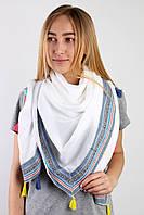 Платок La Feny Платок Монро белый 120х120 см - 135311