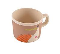 Чашка детская Ёжик 225 мл Fissman бамбуковое волокно SC-8342.225
