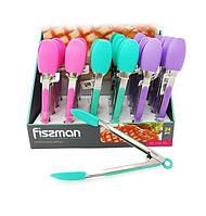 Силиконовые щипцы 23 см Fissman PR-7717.TG