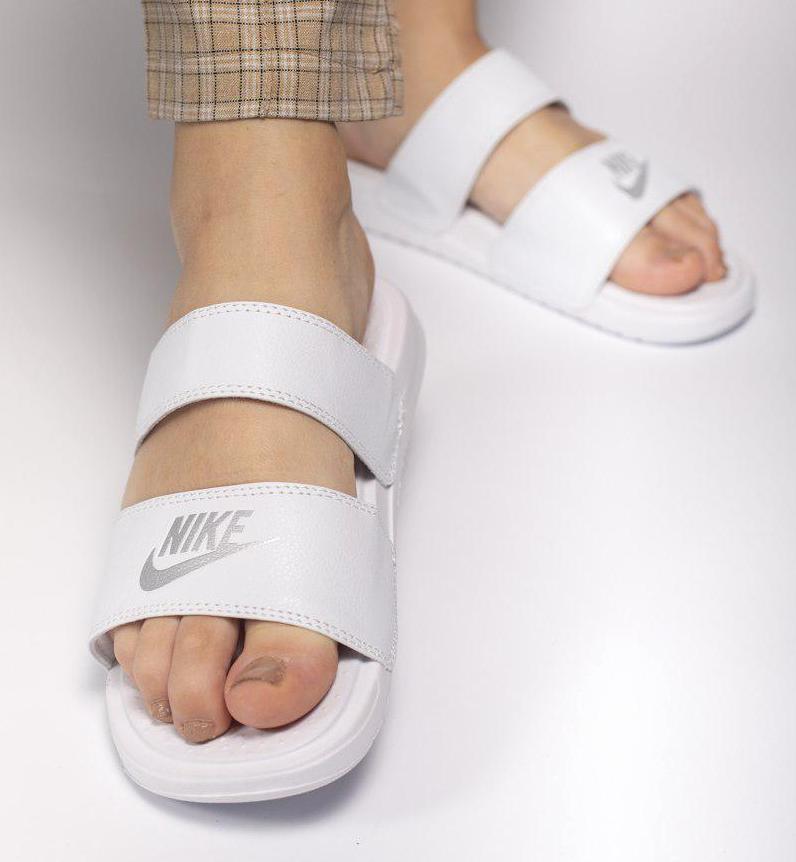 "Сланцы женские Nike Nike Benassi ""Duo Ultra Slide""/шлепанцы nike/тапки nike"