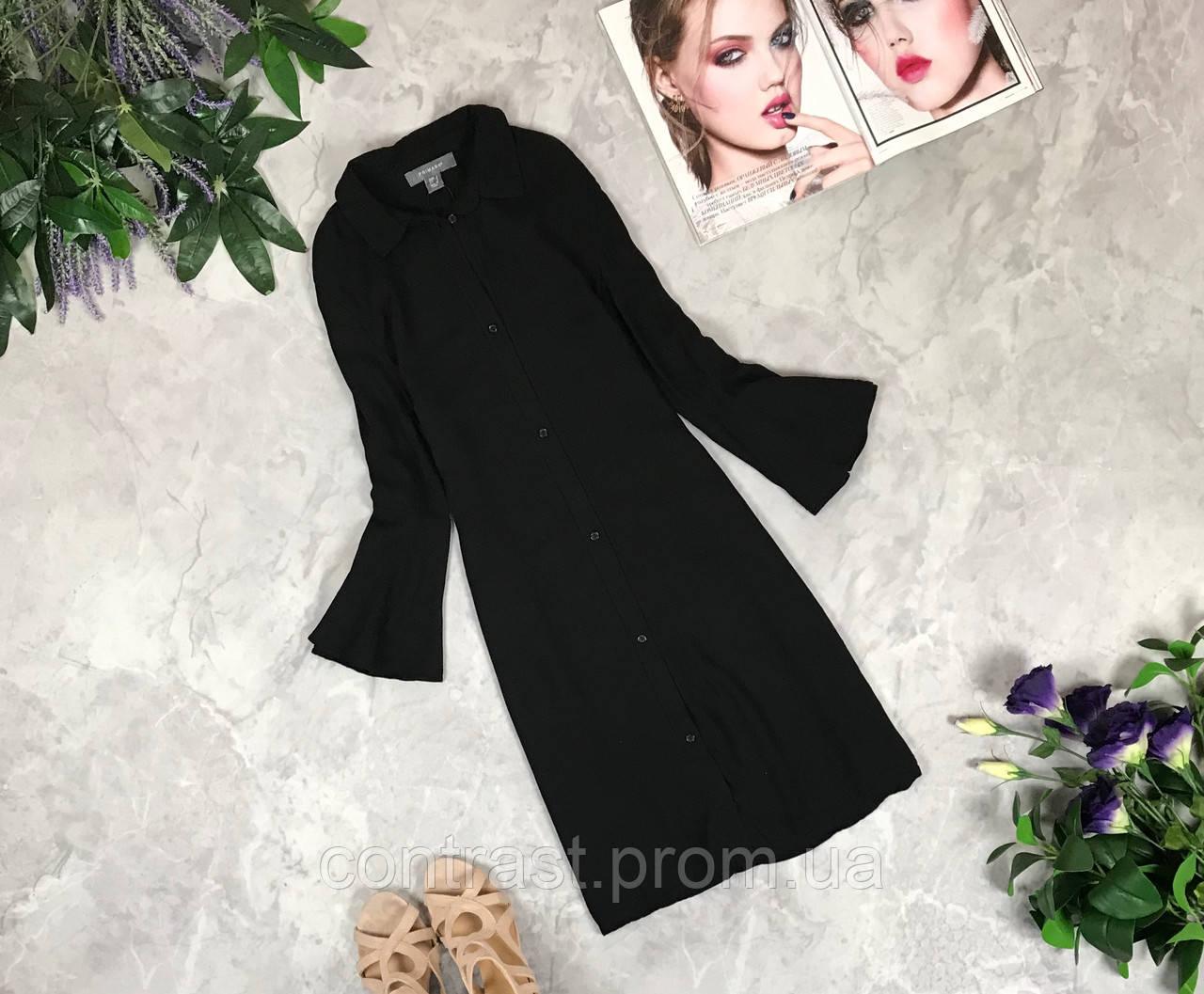 Платье-рубашка с оригинальными рукавами  DR1925137
