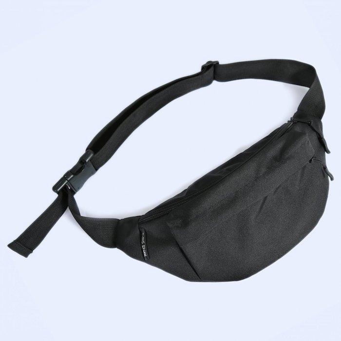 Поясная сумка большая Twins черная