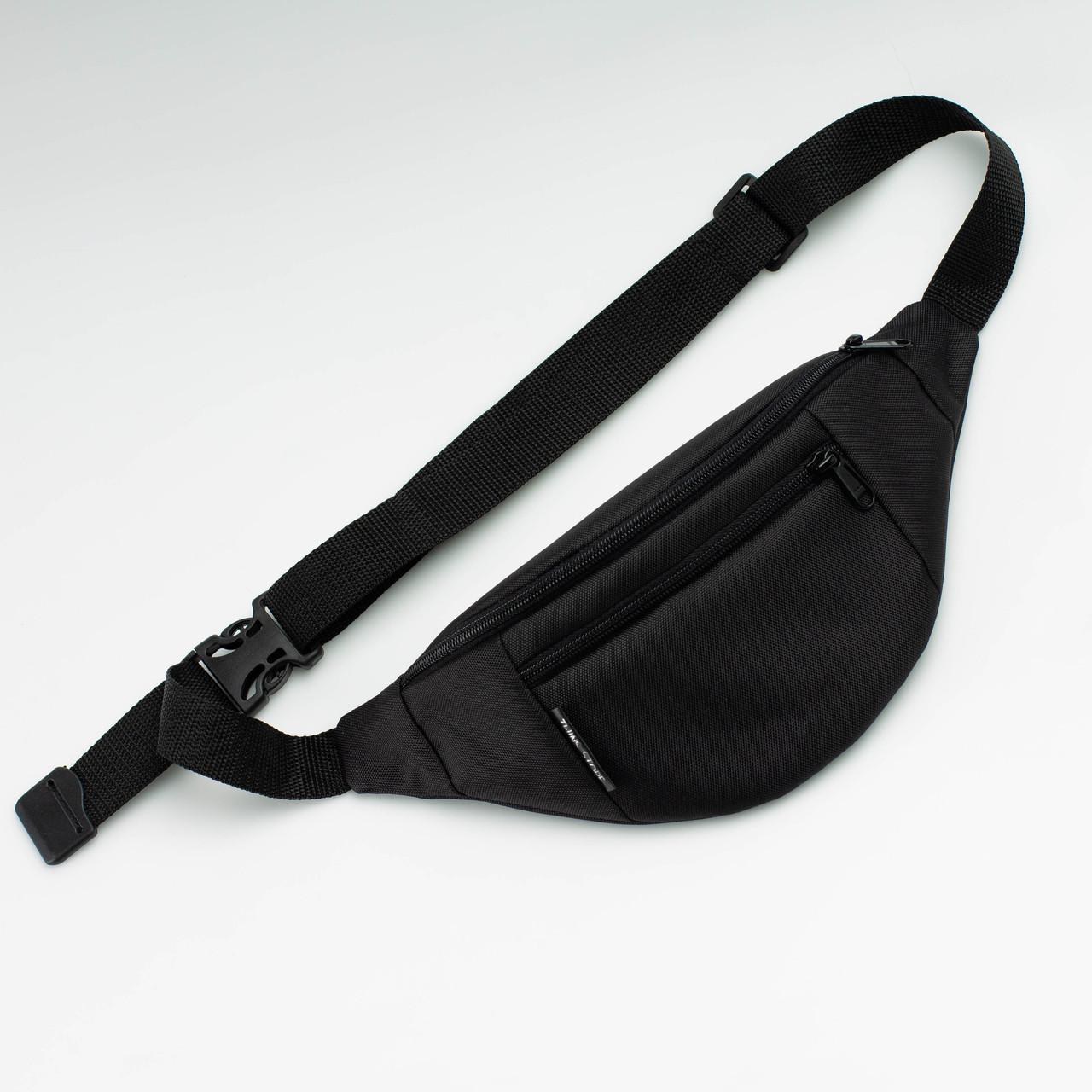 Поясная сумка Twins черная