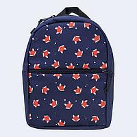 Рюкзак детский Twins с лисичками синий