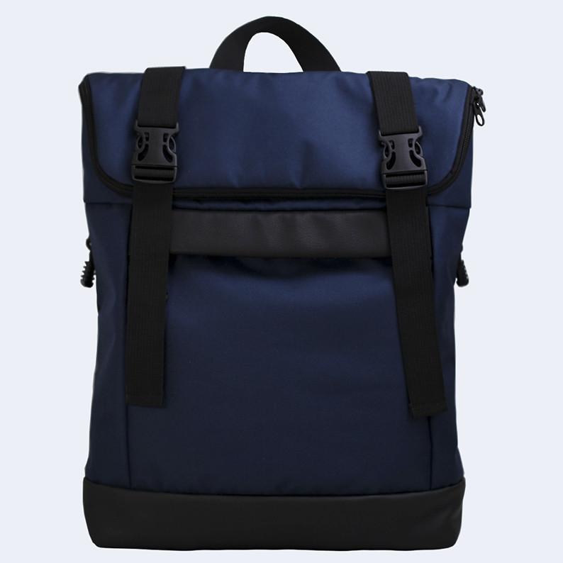Рюкзак Twins Rolltop medium cине-черный