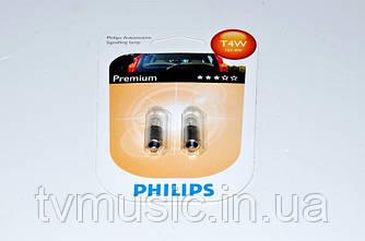Автолампы Philips Premium T4W (12929B2)