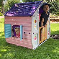 Детский игровой Домик UNICORN MAGICAL HOUSE, StarPlast (23-561), 109*102*90 см