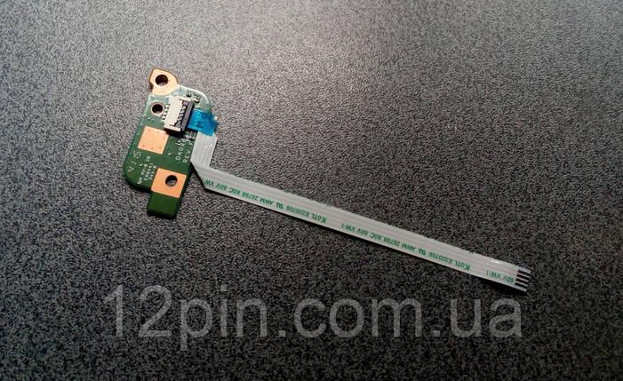 Кнопка включения HP ProBook 450 G3 б.у.оригинал, фото 2