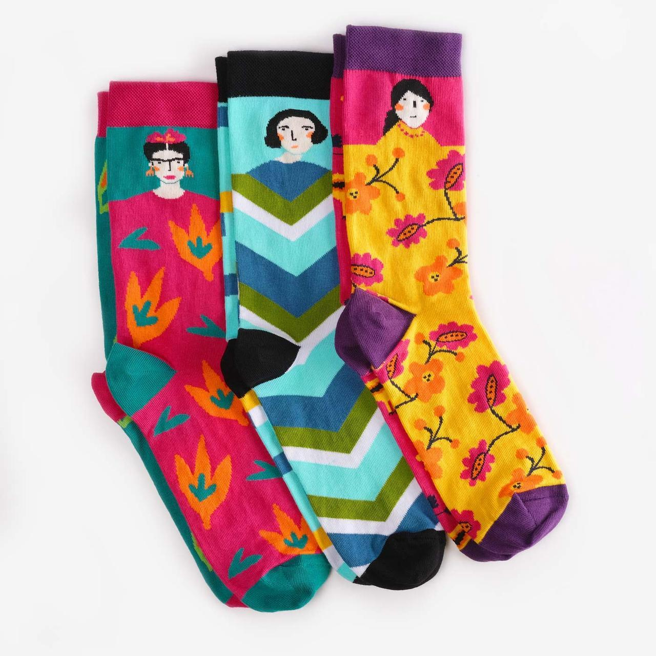 Носки Dodo Socks набор Artista 36-38, 3 шт