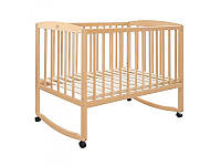 Кровать для детей 0445 деревянная (бук), дуги, 120-60см