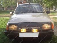 Дефлектор капота Форд Сиерра 1 (мухобойка на капот Ford Sierra1)
