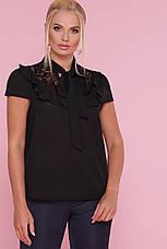 Блуза жіноча офісна 50,52,54 р., фото 3