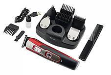 Электробритва, триммер, машинка для стрижки 10 в 1 Gemei GM-592, фото 3