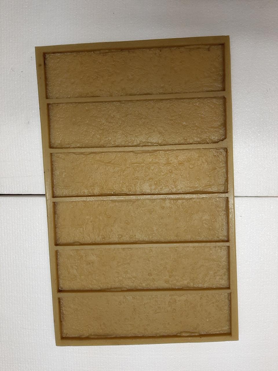 Полиуретановые силиконовые формы для плитки под кирпич Дортмунд лофт