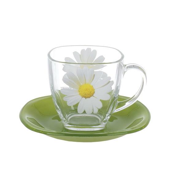 Carine Paquerette Green Чайный сервиз 12 пр. Luminarc N8508