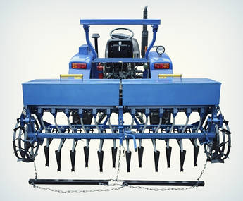 Сеялка зерновая СЗ-2 (СІ8) | Сівалка 12 рядна для мінітрактора (зернова)