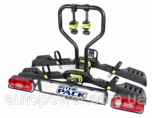 Велосипедная платформа InterPack Spider 2 на фаркоп для 2 велосипедов