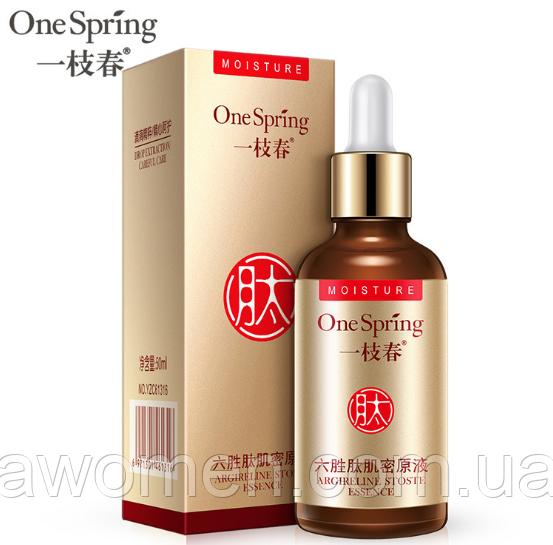 Сыворотка One Spring ARGIRELINE эффект ботокса аргирелин - 6 пептидов с гиалуроновой кислотой 50 ml