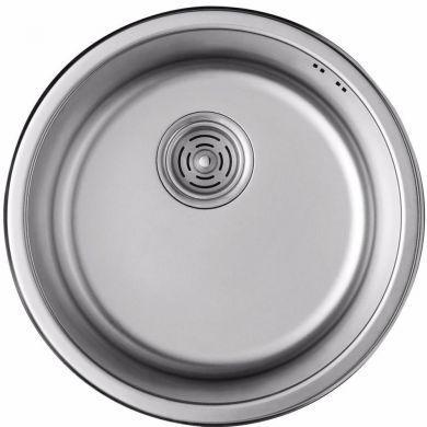 Кухонная мойка ULA 7102 Micro Decor 08 (нерж.)