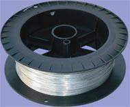 Проволока оцынкованая для электроизгороди 2,5 мм. (500 м)