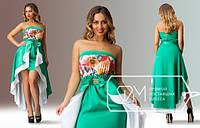 Вечернее платье со съемной юбкой 03058, фото 1