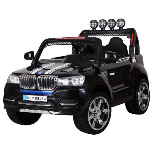 Детский электромобиль Джип M 3118EBLR-2 черный