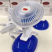 Вентилятор настольный Wimpex WX-605 2 в 1 на прищепке
