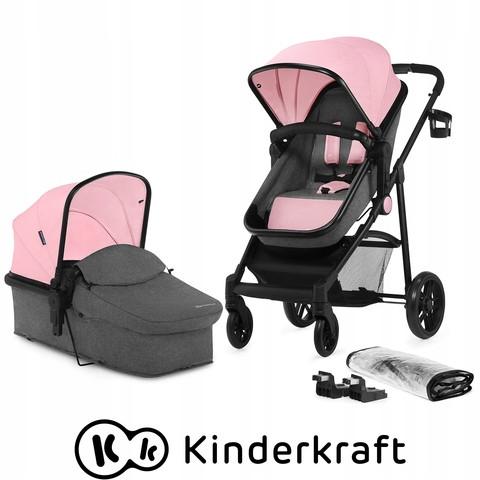 Многофункциональная стильная детская коляска 3 в 1 Kinderkraft Juli