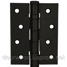 Петля дверная карточная MVM Linde HE-100 Black черный